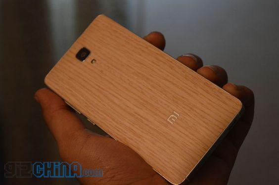 Interesante: Hands on de las cubiertas de madera del Xiaomi Mi4