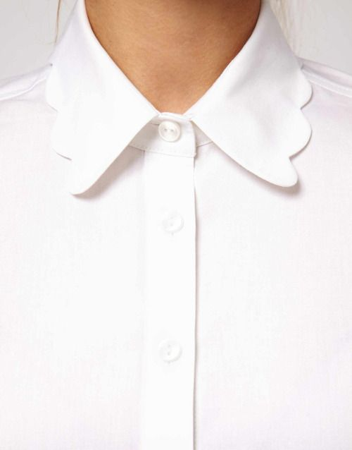 White Button Up.