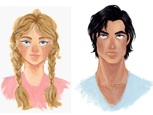 The Hunger Games portraits by LaurenGreiner.