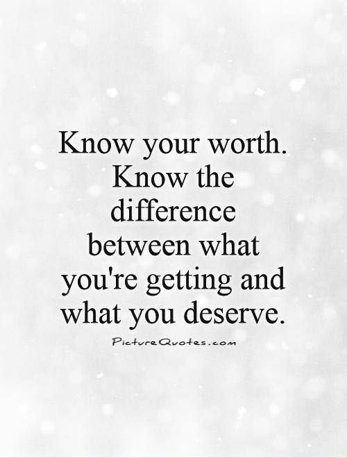 Don't base your #SelfWorth on how others treat u. You are #loveable & deserve #respect.