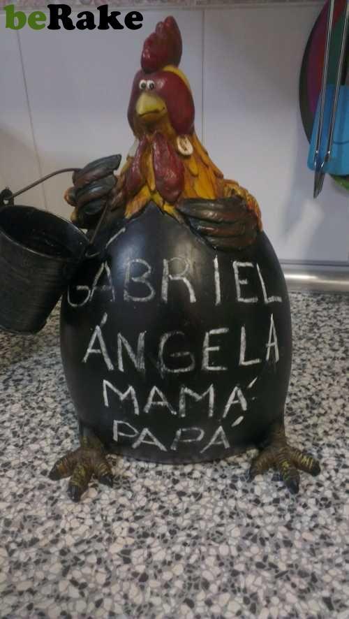 Vendo Pizarra gallina para anotaciones o lo que quieras....
