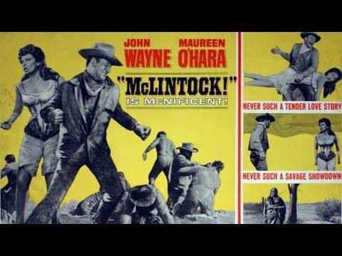 Mclintock Turkce Dublaj Yabanci Western Filmi Full Film Izle Youtube Movie Posters Classic Films Movie Posters Vintage