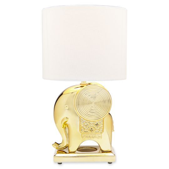 Happy Chic by Jonathan Adler Catherine Elephant Accent Lamp