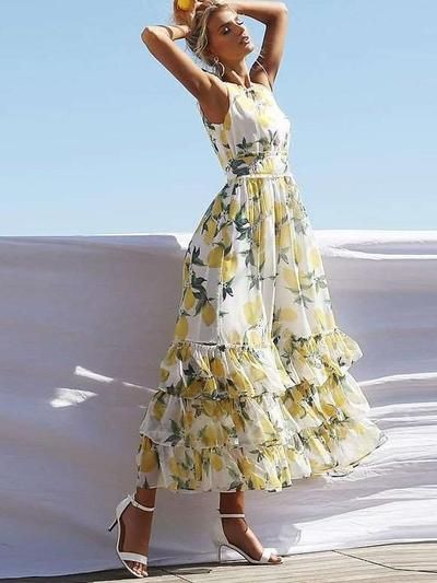 32 Elegant Maxi dresses To Inspire Every Woman outfit fashion casualoutfit fashiontrends