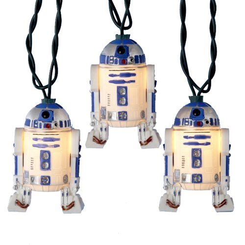 Star Wars Christmas Tree Lights - The Teen would completely geek out!!