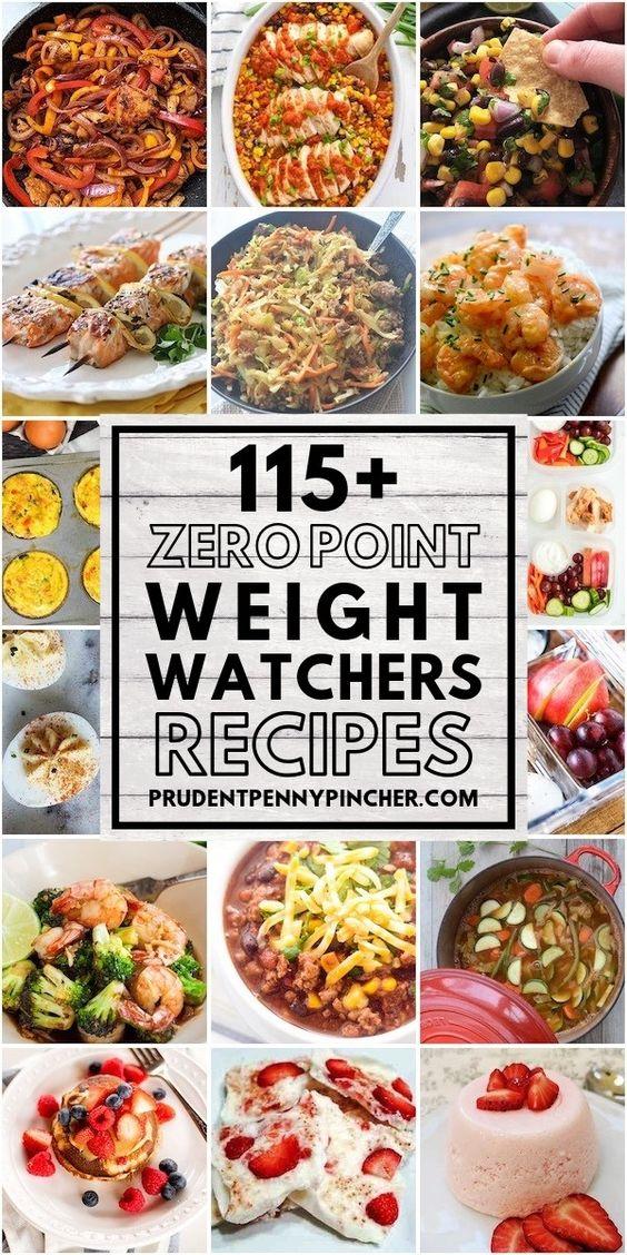 100 Zero Point Weight Watchers Meals