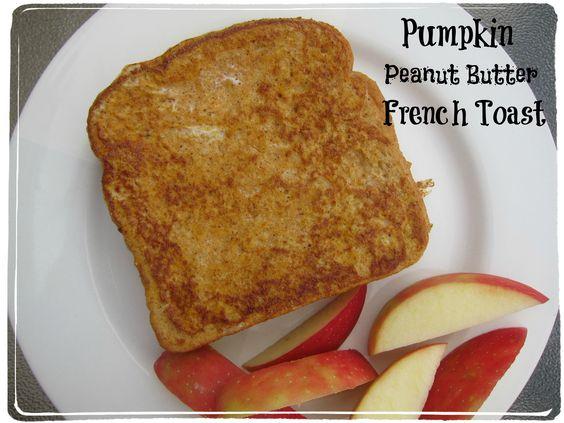 Pumpkin Peanut Butter French Toast