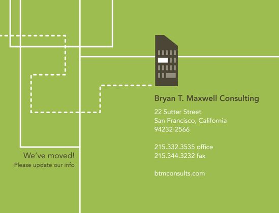 business moving announcement postcard oxynux org
