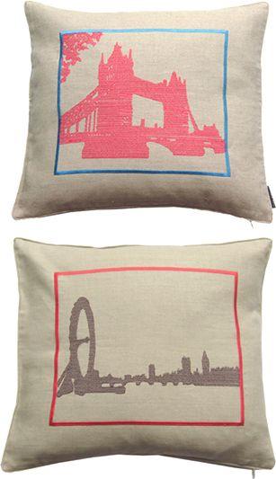 Modern Cross Stitch Pillow : Pinterest The world s catalog of ideas