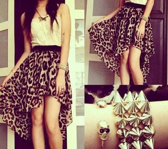 Love it... Leopard.....White