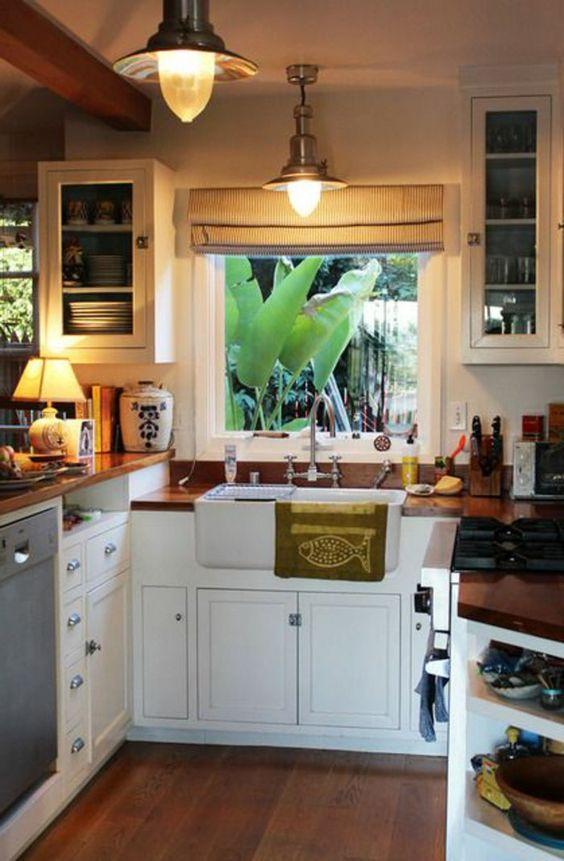 Comment aménager une petite cuisine? Idées en photos! | Small ...