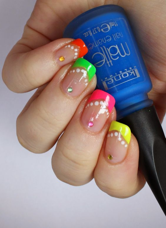 Goodly Nails: Neon v-manikyyri