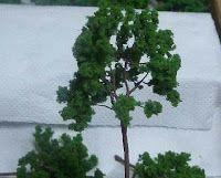 Como hacer árboles para maquetas, Maquetismo