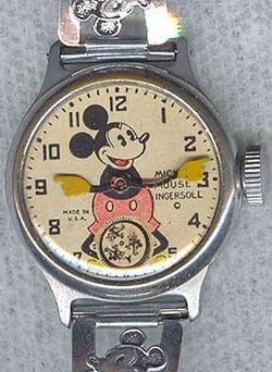 The Original Mickey Mouse Watch: 11,000 Sold in One Day & Robert Langdon's Choice — HODINKEE - Wristwatch News, Reviews, & Original Stories