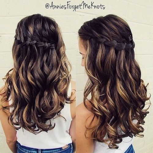 hair homecoming styles annies forget me knots homecoming hairstyle wavy haircut 3671