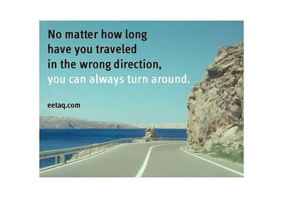 Wrong Direction - Quote