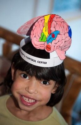 Brain hat, cell necklace, ect: