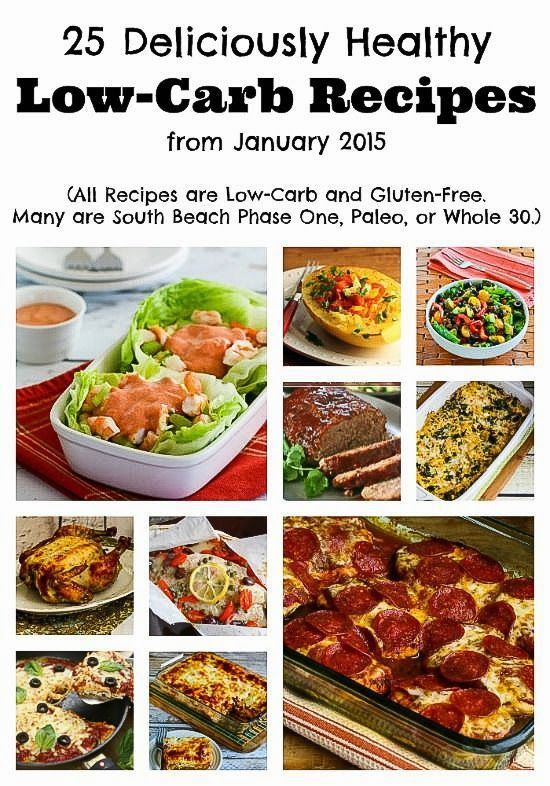 25 deliciously healthy low carb recipes from january 2015 for Healthy recipes for dinner low carb