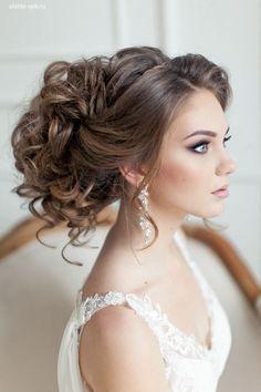 Peinados para novia   bodatotal.com   wedding hairstyle, bridal, bride, novia, bodas