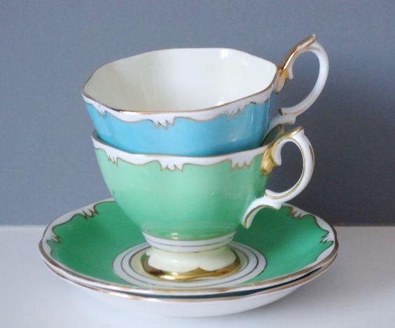 Vintage Royal Albert Teacup and Saucer Set