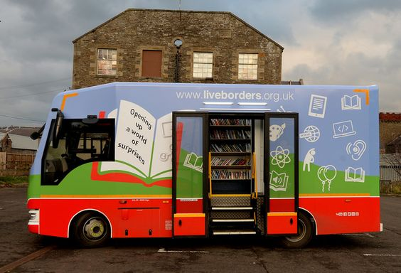SLIC has published a report on the use and impact of mobile libraries throughout Scotland.