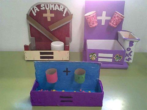 وسائل تعليمية لرياض الاطفال لتعليم الجمع أنشطة منتسوري بالعربي نتعلم Toy Chest Toys Storage Chest