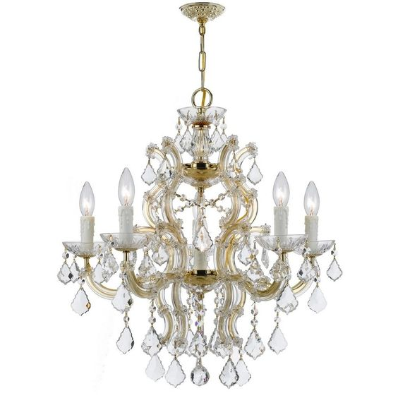 Crystorama Maria Theresa Collection 6-light /Swarovski Strass Chandelier