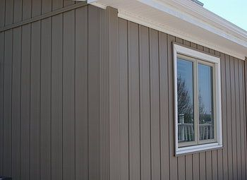 Board And Batten Plywood Siding And Window On Pinterest