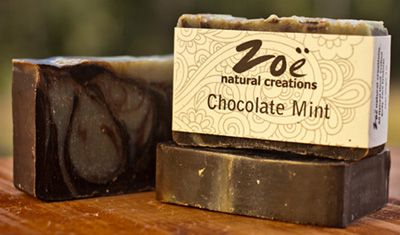 Chocolate Mint Bar Soap