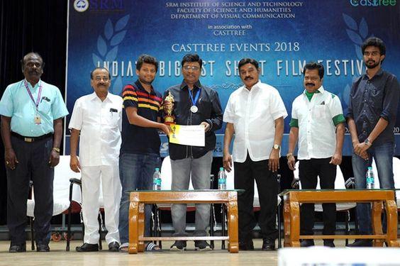 SRMIST organized India's Biggest Short Film Contest