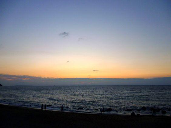 Sunset, Futamigaura, West of Fukuoka, Japan (2012/09/01)
