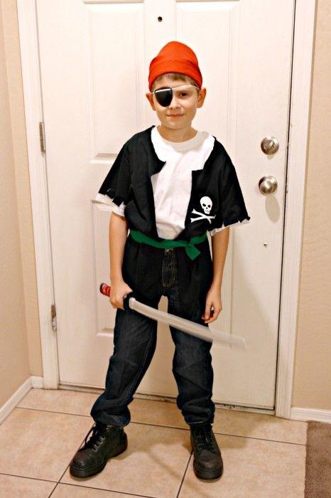 Fantasias de Carnaval para fazer em casa - Pirata: