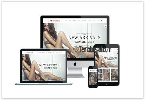 Free Joomla Themes -Sexy Lingerie Joomla Template #joomla #sexy #lingerie #joomlathemes