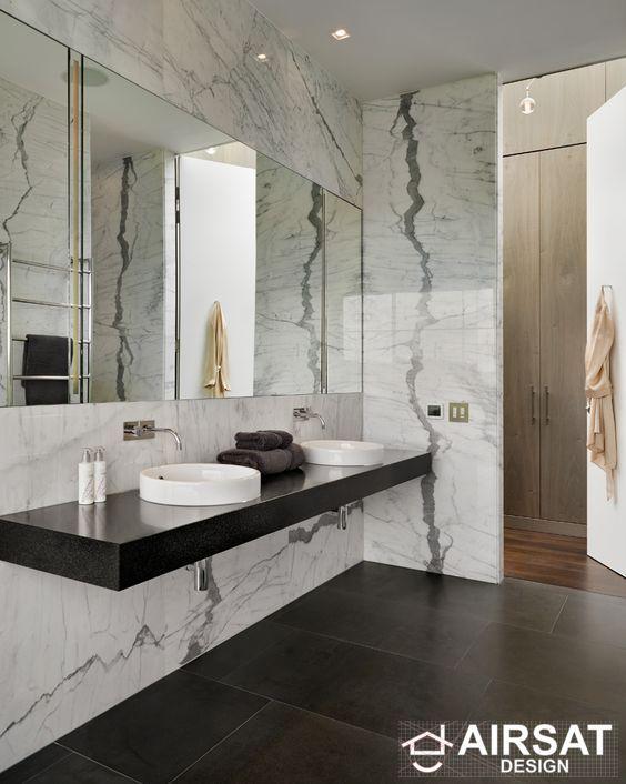 Modern Marble Bathroom Design Diseno De Interiores De Bano Diseno De Banos Banos De Lujo