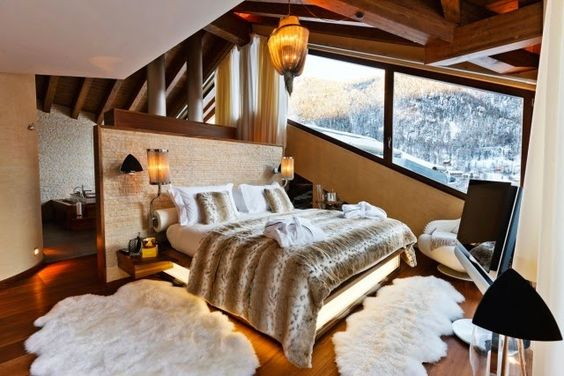 Beauty World By C: Inspiration déco : un hiver au chalet