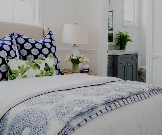 Eye For Design: Decorating With The Blue/Green Color Combination: