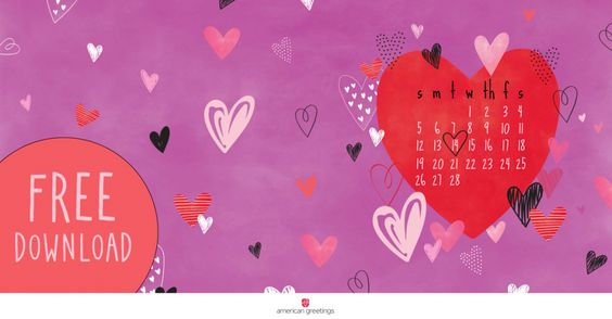 Happy February! (Free Desktop/Mobile Backgrounds) - American Greetings Blog