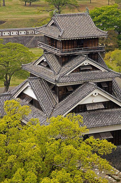 Замъкът Кумамото Япония: