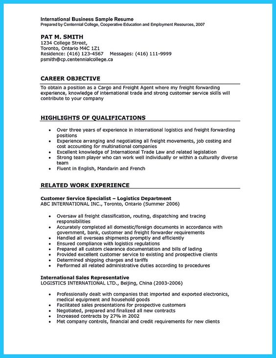 cool Special Guides for Those Really Desire Best Business School - dispatch officer sample resume