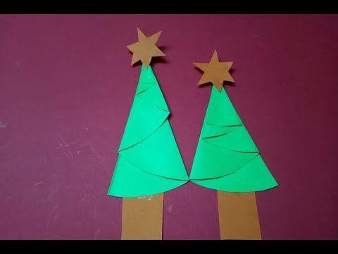 Youtube Diy Christmas Tree Paper Christmas Tree Christmas Diy