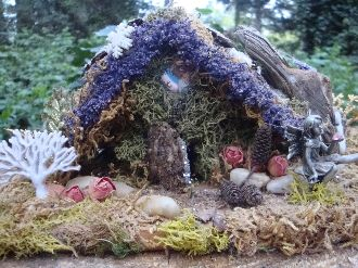 Winter Fairy House Kit: