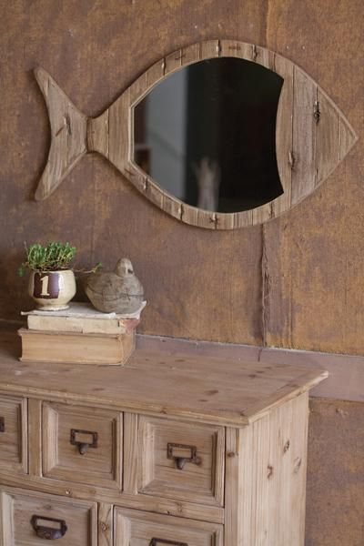 Melissa sutcliffe check out the mirror rustic for Beach cabin decor