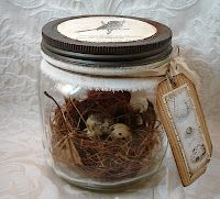 adorable nest display
