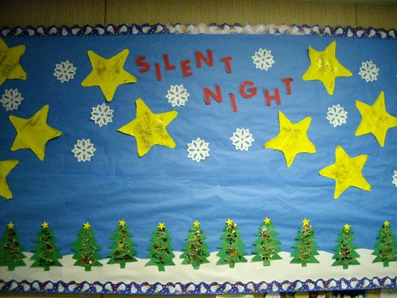 Christmas Bulletin board by the great Mrs. Suzanne