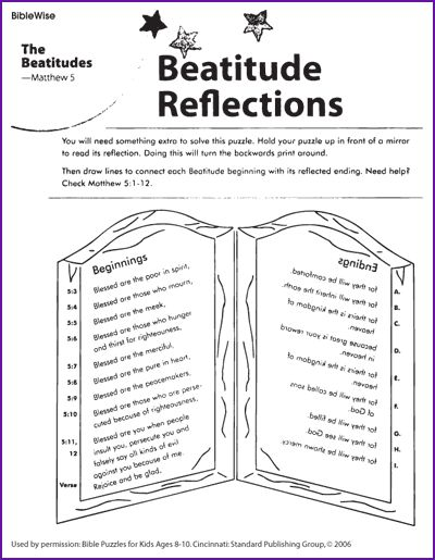 beatitudes for kids Google Search
