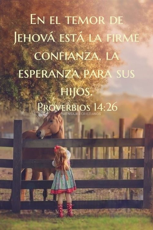 photo Proverbios 14 26 pinterest