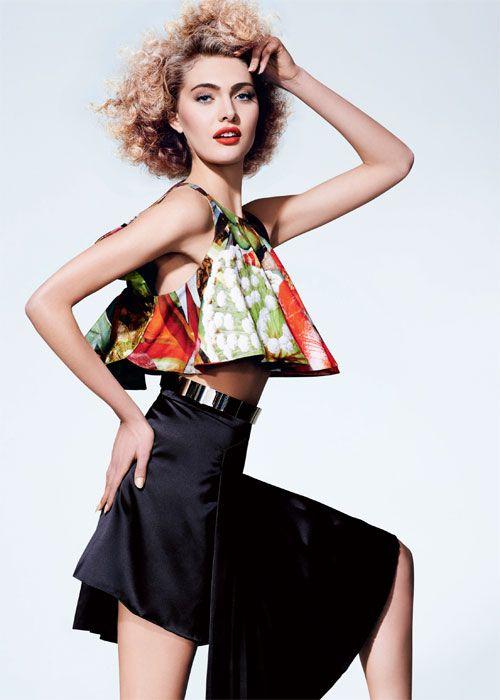 Editorial Vedera Tropical – Harper's Bazaar Setembro 2013