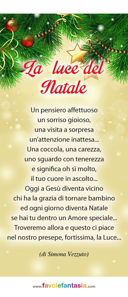 Del Natale.La Luce Del Natale Simona Vezzuto Natale Natale Italiano Auguri Natale