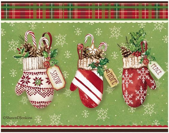 Shawn D Jenkins Licensed Art: Fall Christmas Spring Summer and Everyday: