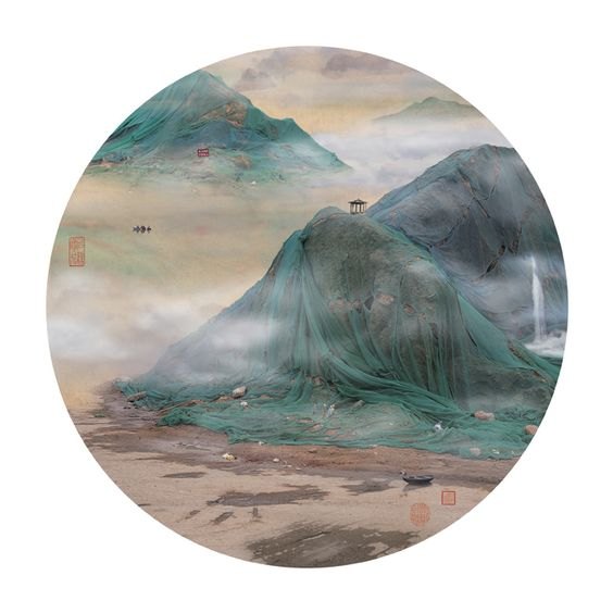 Artist Transforms Landfills Into Beautiful Chinese Landscapes - My Modern Metropolis